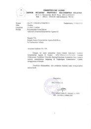 Penyampaian Surat Edaran Sekjen - Kanwil Kemenag Provinsi ...