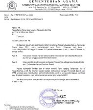 Surat Edaran Penerbitan Paspor - Kanwil Kemenag Provinsi ...