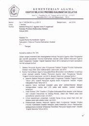 Seleksi PAI Teladan - Kanwil Kemenag Provinsi Kalimantan Selatan