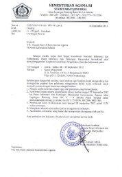 Undangan Peserta - Kanwil Kemenag Provinsi Kalimantan Selatan