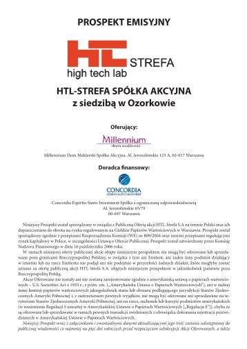 Kopia Prospekt emisyjny HTL-Strefa - internet.indd - Millennium DM