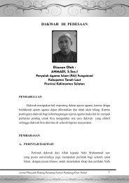 Edisi 3 - Kanwil Kemenag Provinsi Kalimantan Selatan