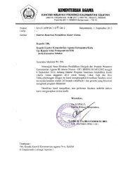 Edaran Beasiswa Pendidikan Kader Ulama - Kanwil Kemenag ...