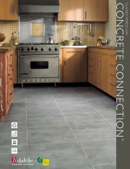CONCRETE CONNECTION - Products - Daltile