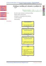 Endring av melding når søknaden er godkjent (d, e, f)