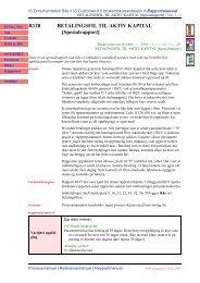 R128 BETALINGSFIL TIL AKTIV KAPITAL [Spesialrapport]