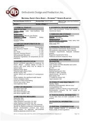 1–chemical product identification 2–composition/information on ...