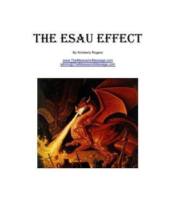The Esau Effect
