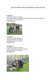 H. Angebot 1  3 Tage Rehbock Jagd in Schottland ... - Hunting4all.de
