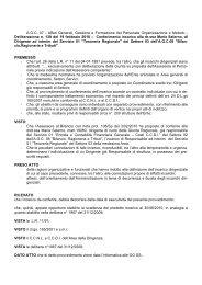 Conferimento incarico alla dr.ssa Maria Salerno, di Dirigente ad ...