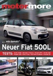 Neuer Fiat 500L - Motor & more