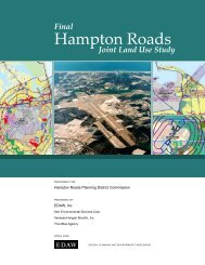 Joint Land Use Study - Hampton Roads Planning District Commission