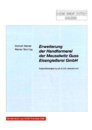 bedeutend in Thüringen  - Meuselwitz  GUSS Eisengiesserei GmbH