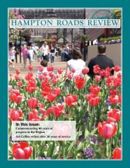 to view the document - Hampton Roads Planning District Commission