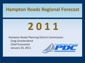 2011 Hampton Roads Economic Forecast