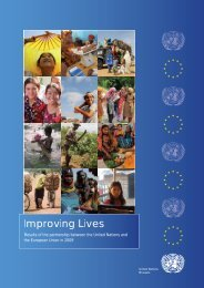 Improving Lives - European Union @ United Nations - Europa
