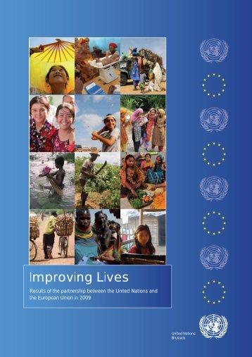 Improving Lives - European Union @ United Nations - Europa