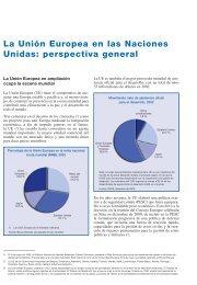 La Unión Europea en las Naciones Unidas: perspectiva ... - Europa
