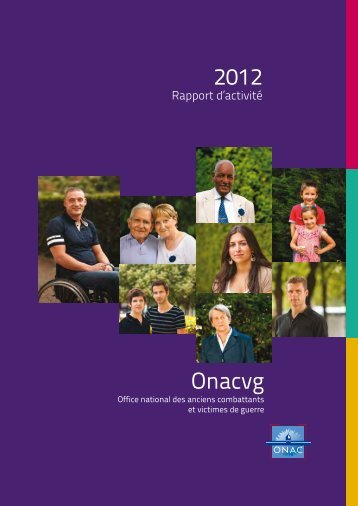 Rapport d'activité 2012 - ONAC