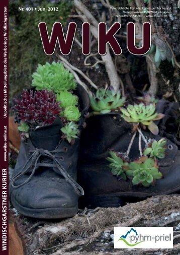 WINDISCHGARSTNER KURIER - WIKU-Homepage