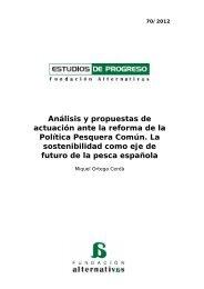 Análisis y propuestas de actuación ante la reforma de la Política ...