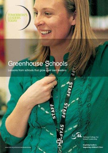 Greenhouse Schools - Essex Primary Headteachers' Association