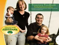 What Is A Food Bank? - Freestore Foodbank