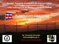 Planificación Energética de Costa Rica - OLADE