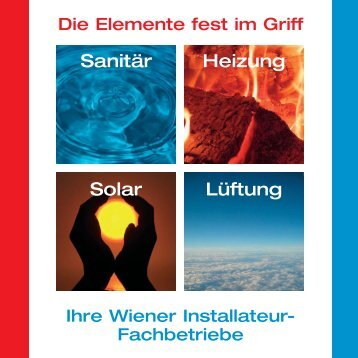 Sanitär Heizung Lüftung Solar - Wiener Installateure