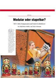 Modular oder stapelbar? - Kommunikationsnetze.de