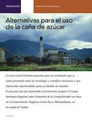 Alternativas para la caña de azúcar - Coparmex