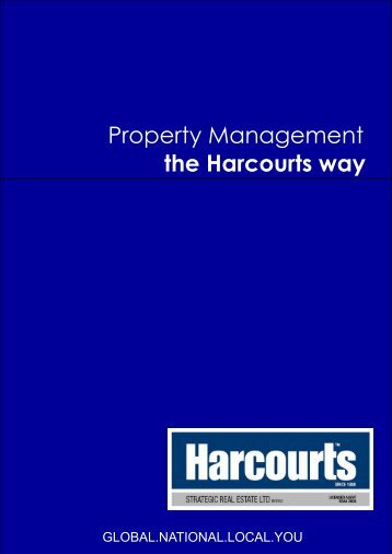 Property Management the Harcourts way