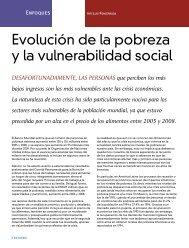 Evolución de la pobreza y la vulnerabilidad social - Coparmex