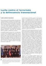 Lucha contra el terrorismo y la delincuencia transnacional - Europa