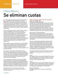 Se eliminan cuotas - Coparmex
