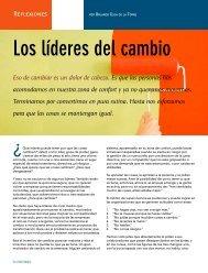 Los líderes del cambio - Coparmex