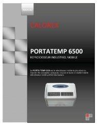 Portatemp 6500 serie 3 - p1.psd - Calorex
