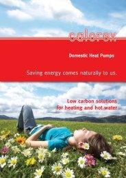 HOT WATER HEAT PUMPS 4 PAGE V2 - Calorex