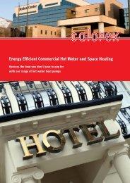 Pro Pac commercial heat pumps.pdf - Australian Geothermal Solutions