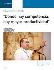 """""""Donde hay competencia, hay mayor productividad"""" - Coparmex"""