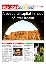 A beautiful capital In need of litter facelift - Kurdish Globe