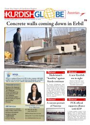 Concrete walls coming down in Erbil - Kurdish Globe