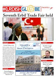 Critical Tehran visit Seventh Erbil Trade Fair held ... - Kurdish Globe