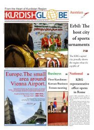 Erbil: The host city of sports t ournaments - Kurdish Globe