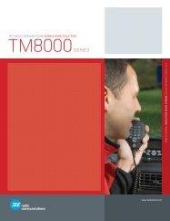 tait - tm8000 spec-sheet - Gould Electronics