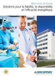 Solutions pour la fiabilité, la disponibilité et l'efficacité ... - Socomec