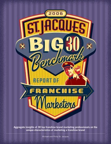 Aggregate insights of 30 top franchise brand ... - MarketingProfs