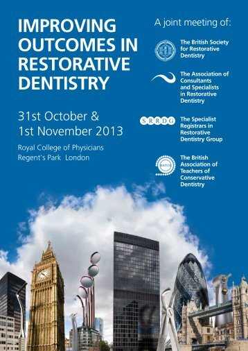 improving outcomes in restorative dentistry - the British Association ...
