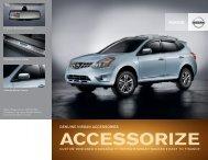 Nissan Rogue | Accessories Brochure | Nissan USA