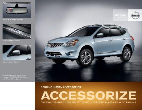 Nissan Rogue   Accessories Brochure   Nissan USA